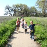 Hiking at the Cosumnes River Preserve