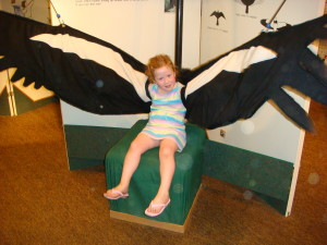 Afterwards, we went inside the nature center where were surprised to find many fun exhibits.