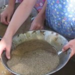 Gold Panning at Discovery Museum