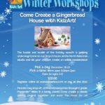 KidzArt Gingerbread House Workshop