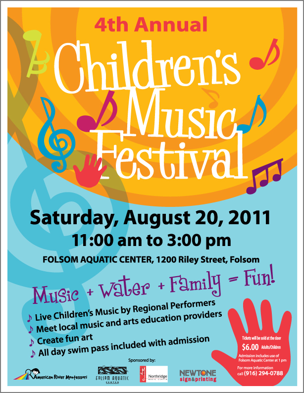 Children's Music Festival in Folsom