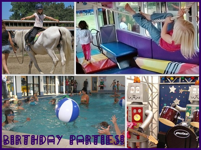 Fun places for unique birthday parties