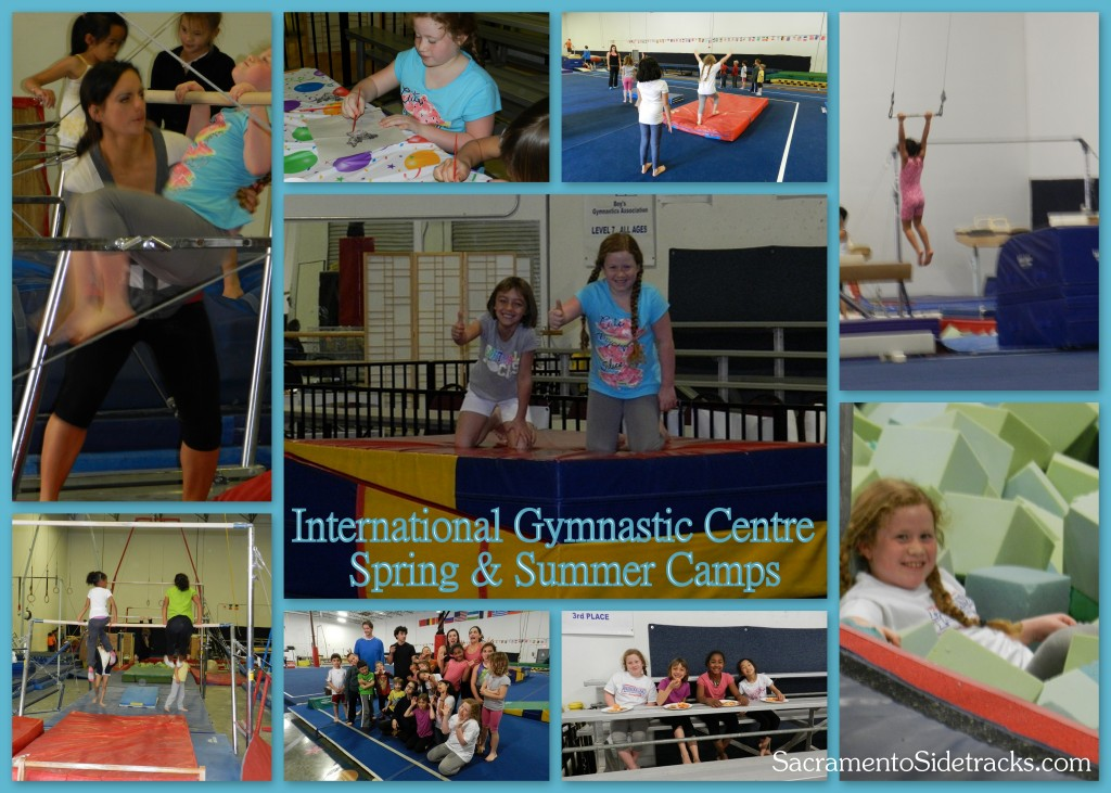 International Gymnastics Centre offers a number of exciting full and half-day camps