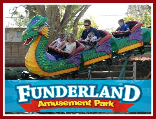 Funderland Amusement Park: Perfect for children ages 2 to 12