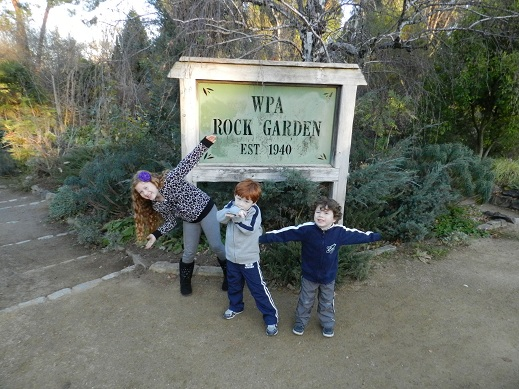 Exploring the WPA Rock Garden