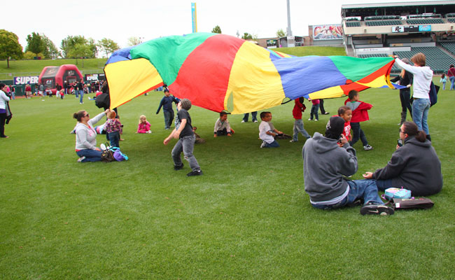 Mommy & Me Day at Raley Field this Wednesday