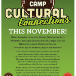 Thanksgiving Camp at Sac Children's Museum