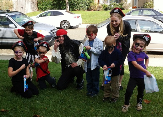 Pirate Birthday Party with Fancy Feet