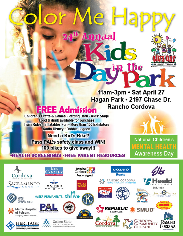 Kids Day in the Park April 27