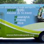 The WOW Bus brings Free Fun to the Park