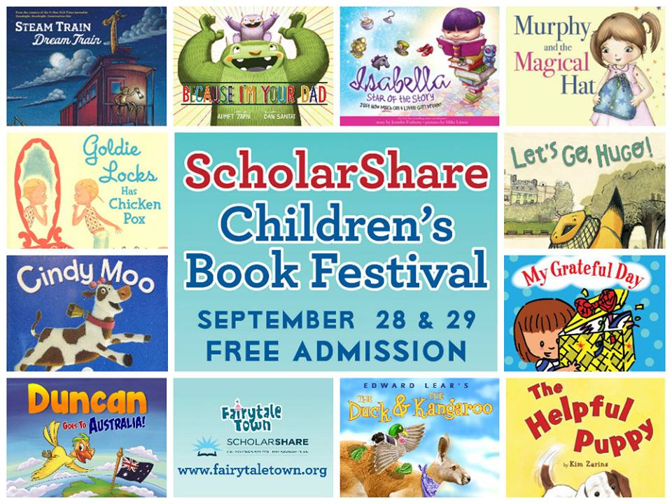 Children's Book Festival & Giveaway Sept. 28, 29 at Fairytale Town