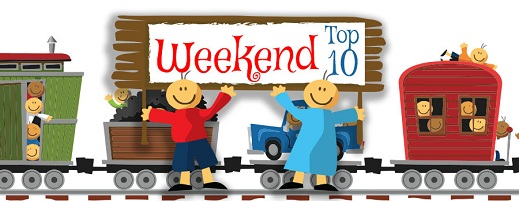 Memorial Day Weekend Top 10: May 22nd – 25th
