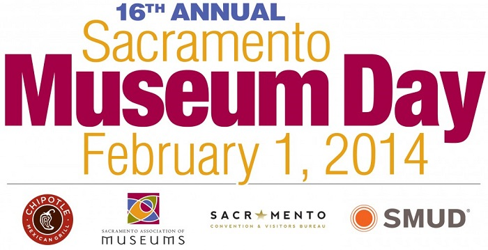 Sacramento 16th Annual Free Museum Day this Saturday