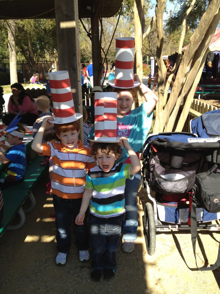 Celebrate Dr. Seuss' Birthday March 2 at Fairytale Town