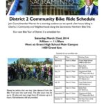 Sacramento Community Bike Ride Schedule