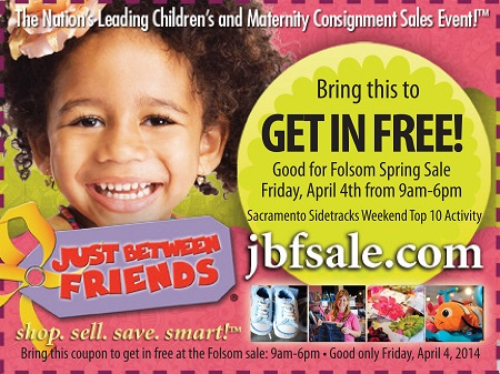 Just Between Friends Spring Sale Coupon