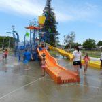 White Rock Neighborhood Splash Park with Water Slides