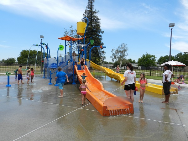 White Rock Neighborhood Splash Park with Water Slides