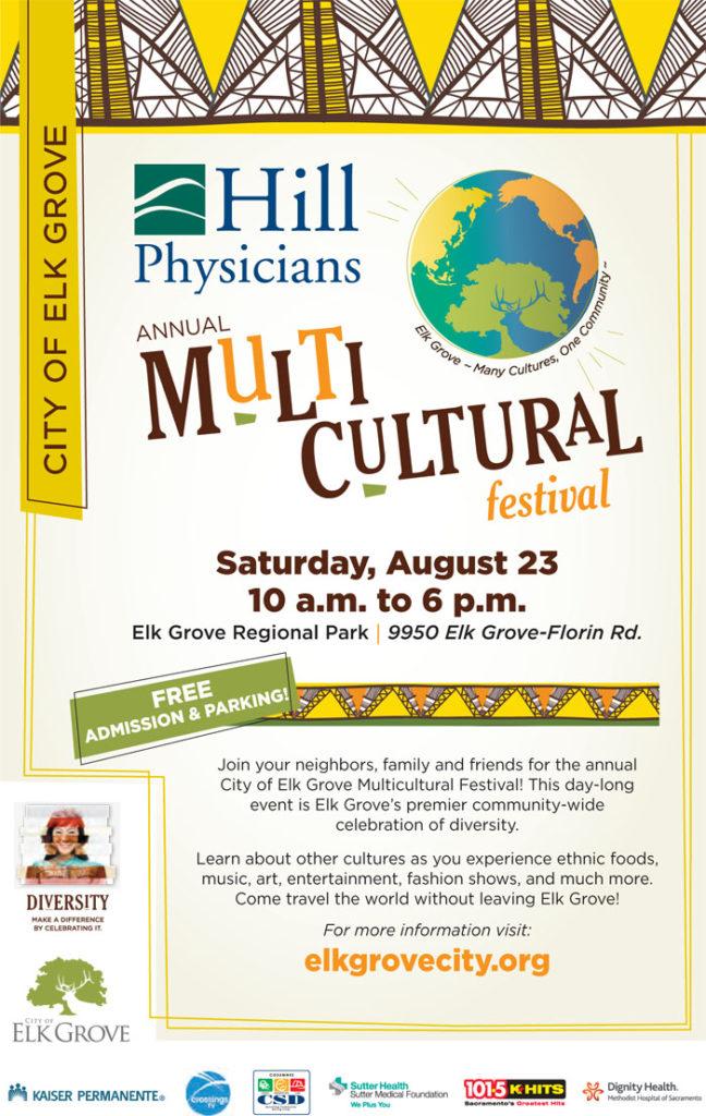 Free Multicultural Festival in Elk Grove Regional Park
