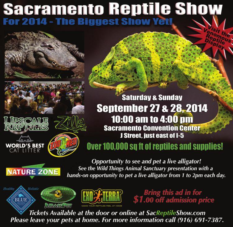 Sacramento Reptile Show 2014