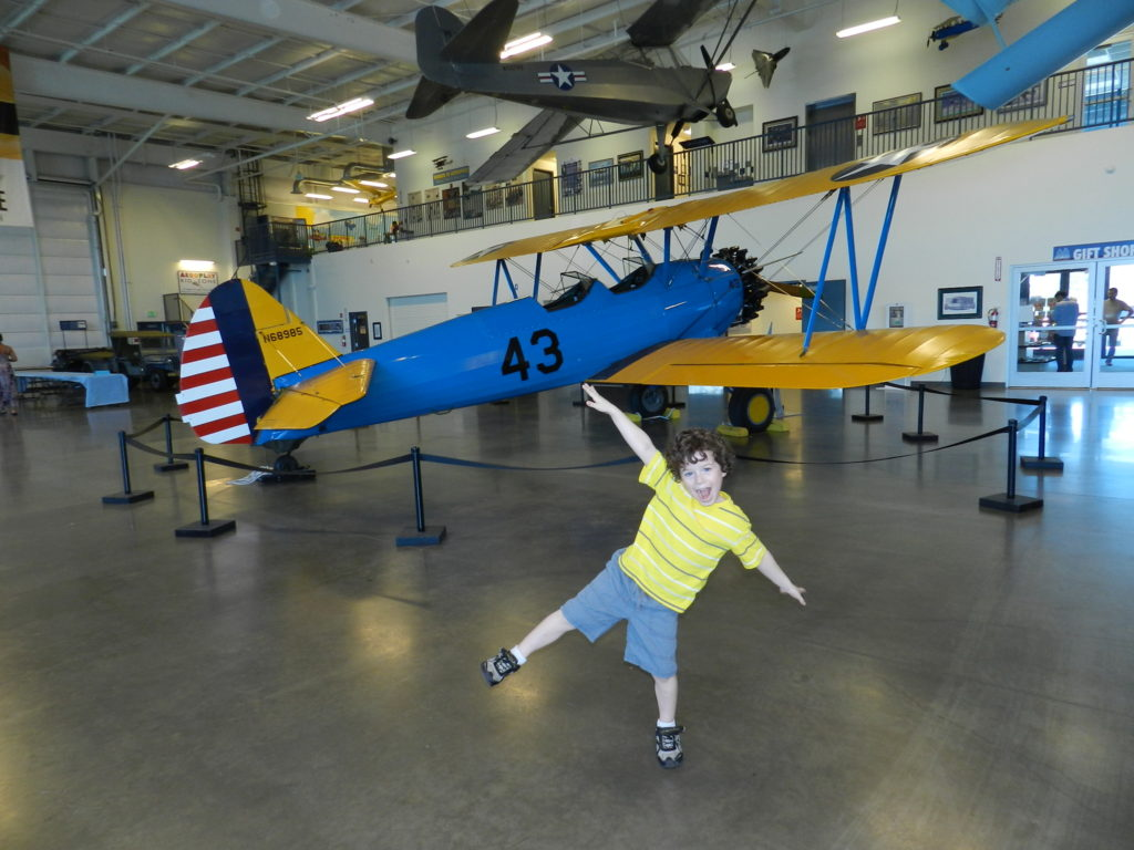 Friday Storytime at Aerospace Museum of California