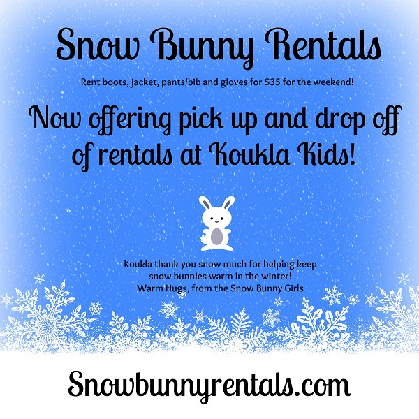 Introducing Snow Bunny Rentals: Snow Day Clothes for Kids!