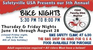 bike night ad safetyville