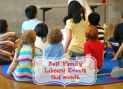 Best Family Library Events in September
