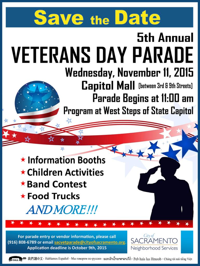 Sacramento Veteran's Day Parade 2015