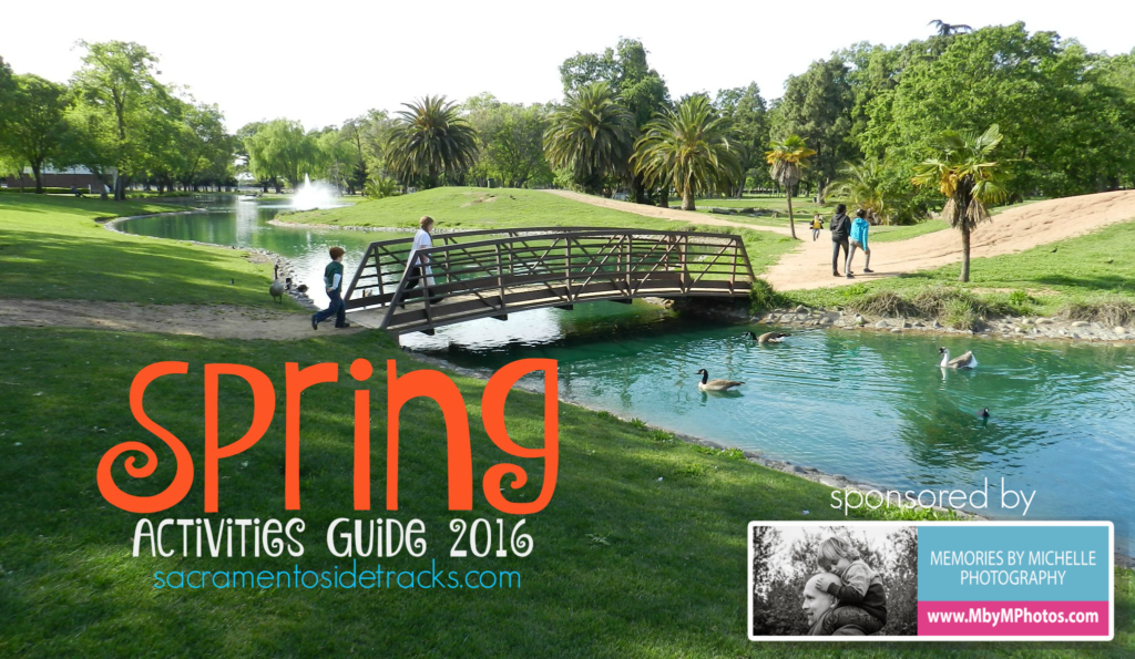 Spring Activities Guide 2016 image with sponsor