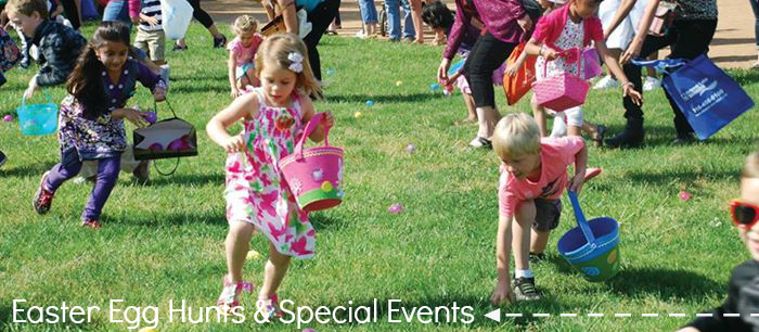 Celebrate Easter with Egg Hunts & Eggstravaganzas