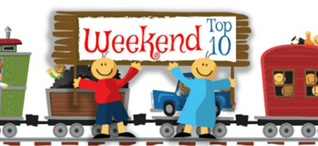 Weekend Top 10: February 24th – 25th